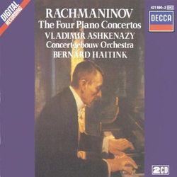 S. Rachmaninov - Pianoconcert No.1,2,3&4