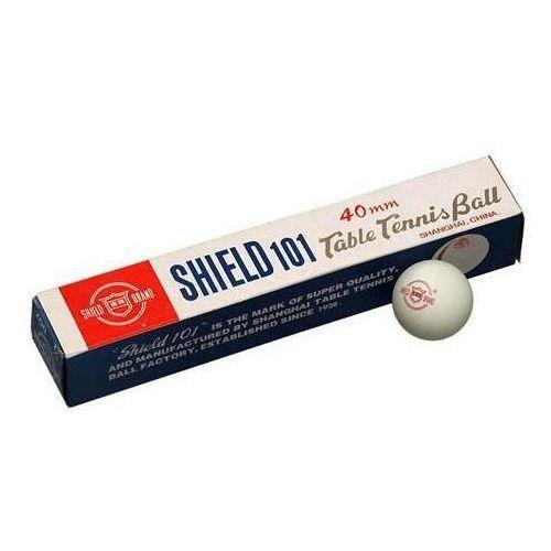 Tenis stołowy, Piłeczki do tenisa stołowego Shield 6sztuk białe