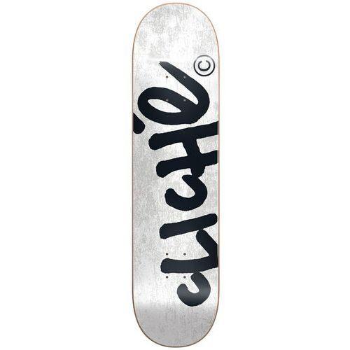 Pozostały skating, deska CLICHE - Handwritten Rhm White (WHITE)