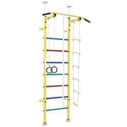 Drabinka gimnastyczna Kinder BenchK - żółty
