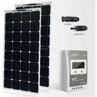 Baterie słoneczne, Zestaw na Łódź Panel słoneczny Flex 220W / MPPT EPSOLAR 20A