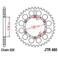Zębatka tylna stalowa JT 460-49, 49Z, rozmiar 520 2301305 Kawasaki KX 250, KX 500