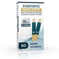 DIAGNOSTIC Gold Strip paski testowe x 50 sztuk