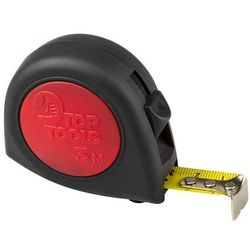 Miara zwijana stalowa 3 m x 16 mm 2 blokady zwijania taśmy dwumateriałowa obudowa 27C313