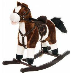Koń na biegunach DODO średni 56 cm Brązowy