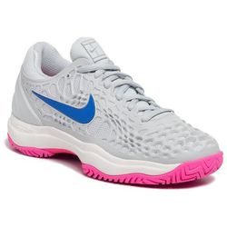 Buty NIKE - Air Zoom Cage 3 Hc 918199 003 Pure Platinum/Racer Blue