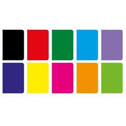 Brulion Herlitz Rainbow A4/96k. kratka 9563982