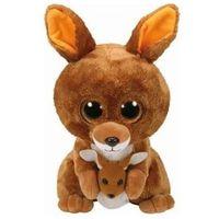 Pluszaki pozostałe, Maskotka TY Beanie Boos Slick - Brązowy kangur KIPPER 24 cm