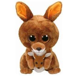 Maskotka TY Beanie Boos Slick - Brązowy kangur KIPPER 24 cm