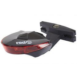 Red Cycling Products Power Rear Light, black 2020 Oświetlenie rowerowe - zestawy Przy złożeniu zamówienia do godziny 16 ( od Pon. do Pt., wszystkie metody płatności z wyjątkiem przelewu bankowego), wysyłka odbędzie się tego samego dnia.