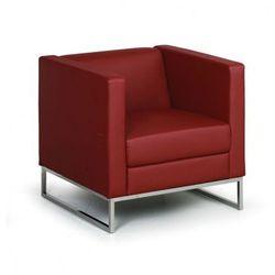 Fotel Cube, czerwony
