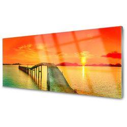 Obraz Akrylowy Most Morze Architektura