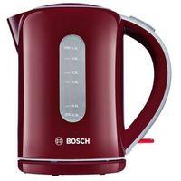 Czajniki elektryczne, Czajnik elektryczny Bosch TWK7604 czerwień żurawinowa