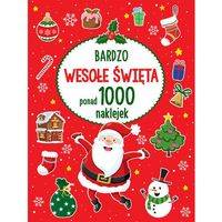 Kolorowanki, Witaj Mikołaju, Ponad 1000 naklejek - Opracowanie zbiorowe OD 24,99zł DARMOWA DOSTAWA KIOSK RUCHU