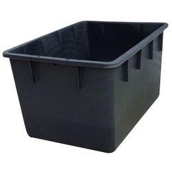Pojemnik do ustawiania w stos z polietylenu, kształt stożkowy,poj. 220 l