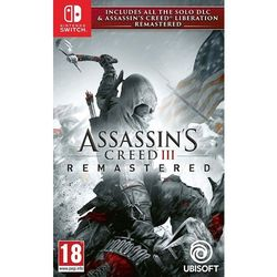 Assassins Creed 3 Liberation Remastered Gra NINTENDO SWITCH DARMOWY TRANSPORT