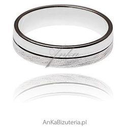 ankabizuteria.pl Obrączka srebrna dla par.
