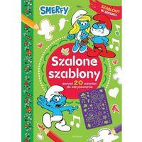 Książki dla dzieci, Smerfy. Szalone szablony (opr. miękka)