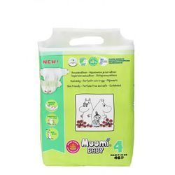 Ekologiczne pieluszki jednorazowe 4 Maxi 7-14 kg 23 szt Muumi