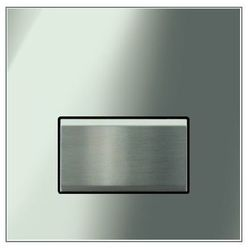 Geberit zawór spłukujący do pisuarów z pneumatycznym uruchamianiem spłukiwania, przycisk uruchamiający typ 50 szkło dymione 116.016.SD.5