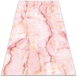 Nowoczesny dywan na balkon wzór Nowoczesny dywan na balkon wzór Różowy marmur