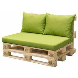 Doppler poduszki na siedzisko z palet - zielone