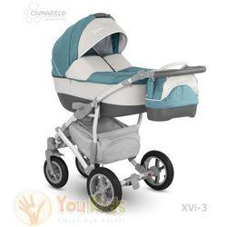Od YouKids VISION 3w1 CAMARELO Wózek Wielofunkcyjny gondola spacerówka fotelik XVi-3