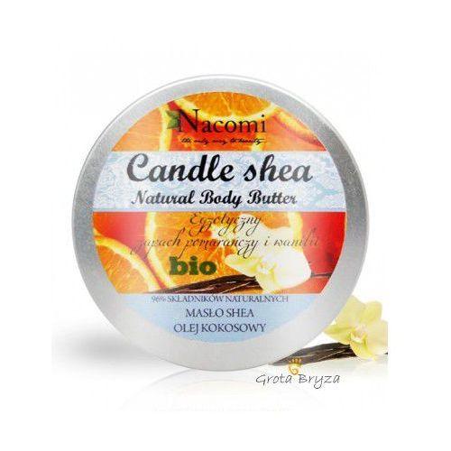 Świeczki, Świeczka z masłem shea i olejem kokosowym -wanilia i pomarańcza 150g