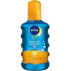 NIVEA 200ml Sun Protect & Refresh Spray do opalania SPF 10
