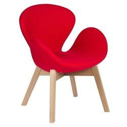 Fotel Aarhus czerwony