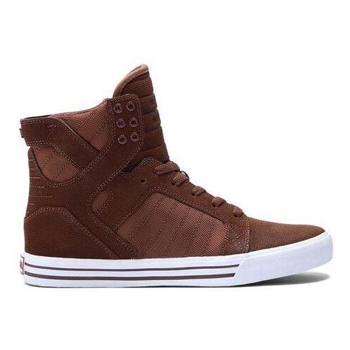 Męskie obuwie sportowe, buty SUPRA - Skytop Chestnut-White (CHN)