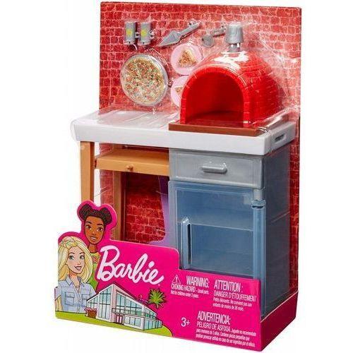 Pozostałe lalki i akcesoria, Ceglany piec ogrodowy Barbie
