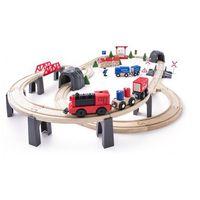 Kolejki i tory dla dzieci, Woody kolejka z lokomotywą - BEZPŁATNY ODBIÓR: WROCŁAW!