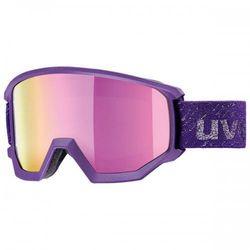 UVEX gogle Athletic FM mirror silver lasergold lite (S3)