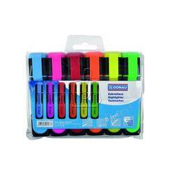 Zakreślacz fluorescencyjny DONAU D-Text 1-5 mm (linia) 6 szt. mix kolorów
