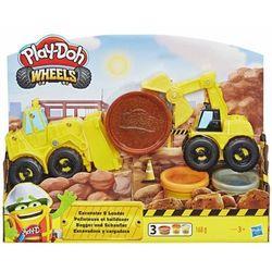 Masa plastyczna Play-Doh Buldożer i Ładowarka