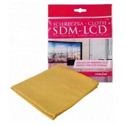 Sdm-lcd - ściereczka z mikrofibry 30x30 do ekranów