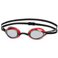 Okularki pływackie, speedo Fastskin Speedsocket 2 Okulary pływackie czerwony/czarny 2018 Okulary do pływania