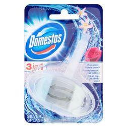 DOMESTOS 40g 3in1 Silver Splash Kostka toaletowa