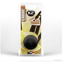 Zapach samochodowy K2 CARAT SWEET VANILLA + zapasowy wkład