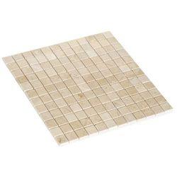 Mozaika Marmur Colours 30,5 x 30,5 cm kremowa