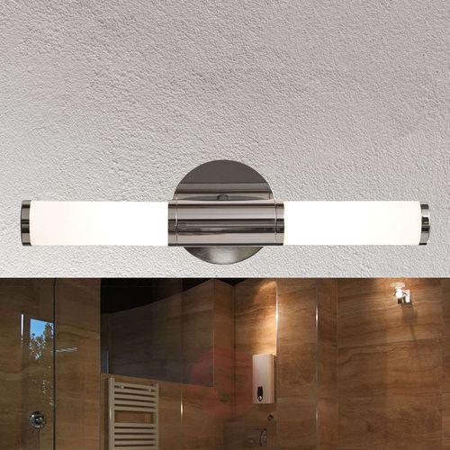 Lampy ścienne, Kinkiet Eglo Palmera 87219 oprawa lampa ścienna 2x40W E14 chrom/ biały