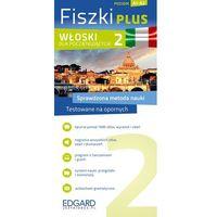 Książki do nauki języka, Fiszki Plus. Włoski dla początkujących 2 (opr. kartonowa)