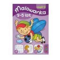 Książki dla dzieci, Malowanka 145x210 lit 3-5 lat 3 (opr. miękka)