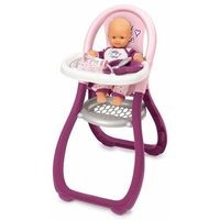 Krzesełka do karmienia, Smoby krzesełko do karmienia baby nurse dla lalek