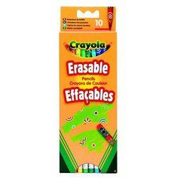 Crayola Kredki ołówkowe ścieralne 10 szt. Darmowy odbiór w niemal 100 księgarniach!