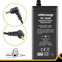 Whitenergy Zasilacz 12v/3a Wtyk 4.8x1.7mm