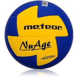 Piłka ręczna Meteor NuAge mini 0 niebiesko-żółta