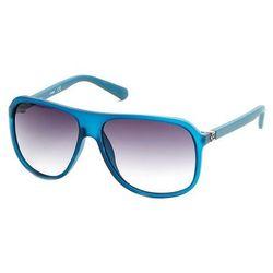 Okulary Przeciwsłoneczne Męskie Guess GU6876_91B Niebieskie