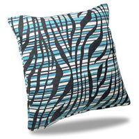 Poszewki, Albani Poszewka na poduszkę - jasiek Nairobi niebieska 40 x 40 cm